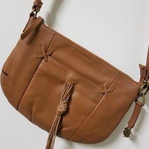 Lucky Brand Boho Leather Crossbody Bag